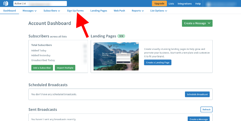 integrate aweber and leadpages - 12