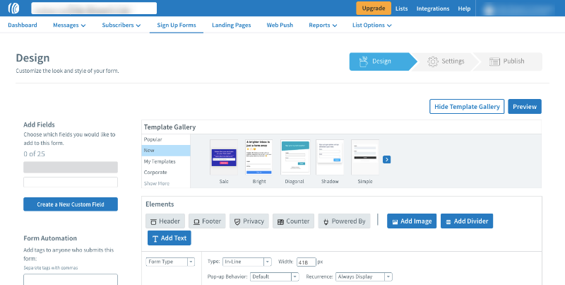 integrate aweber and leadpages - 13